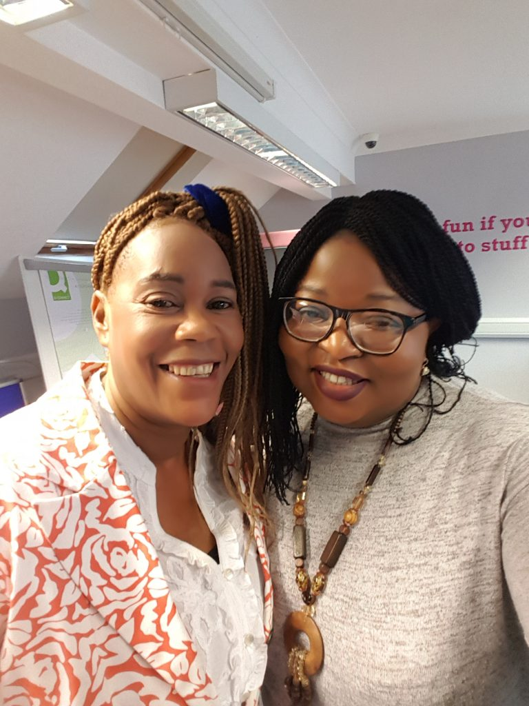 Sherita and Mary- women with a common passion.